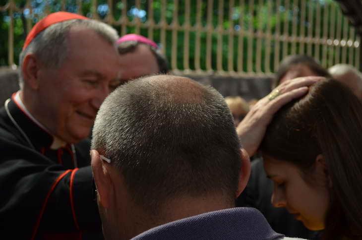 """Як відбувається історичний візит """"прем'єр-міністра"""" Ватикану до Запоріжжя - фото 11"""