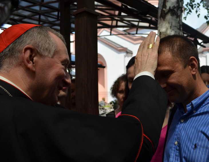 """Як відбувається історичний візит """"прем'єр-міністра"""" Ватикану до Запоріжжя - фото 14"""