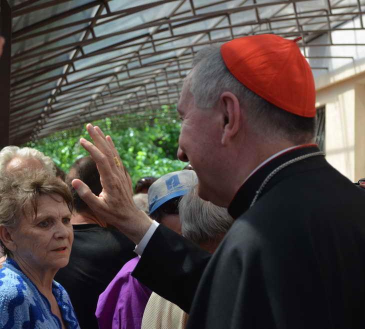 """Як відбувається історичний візит """"прем'єр-міністра"""" Ватикану до Запоріжжя - фото 5"""