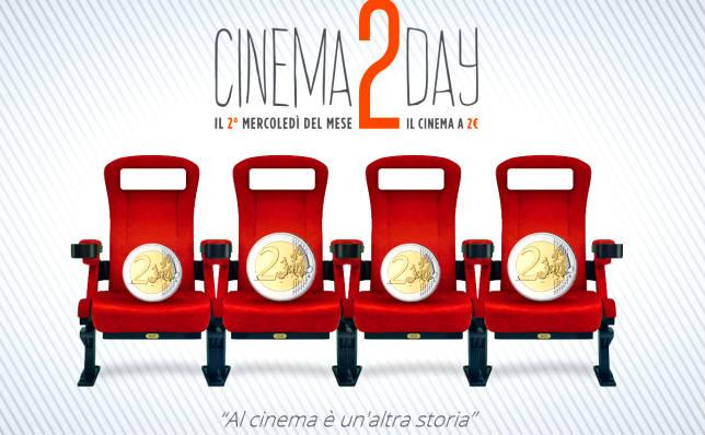 Cinema a 2 euro: ecco tutte le sale che aderiscono a Cinema2Day