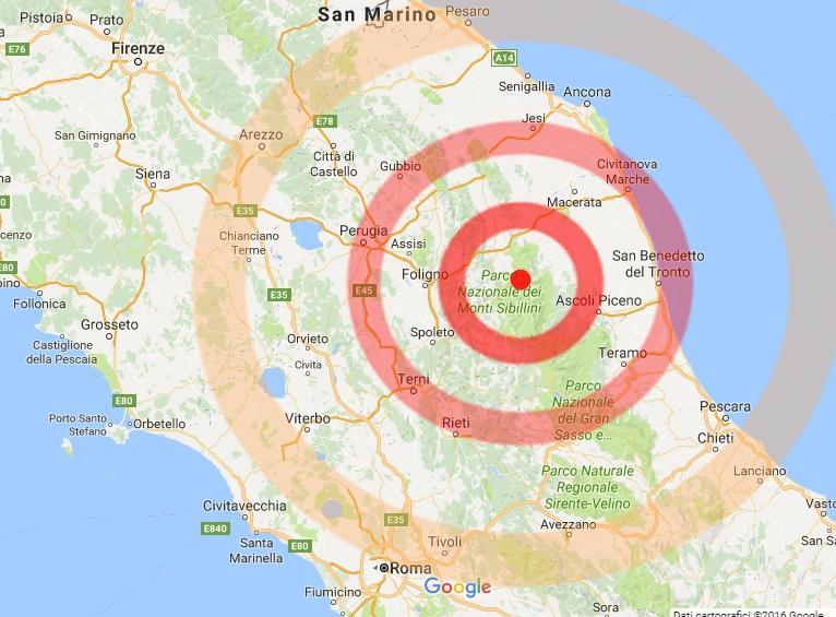 Risultati immagini per terremoto ora