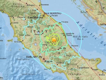 Українців попросили не їхати у регіони Італії, де стався землетрус