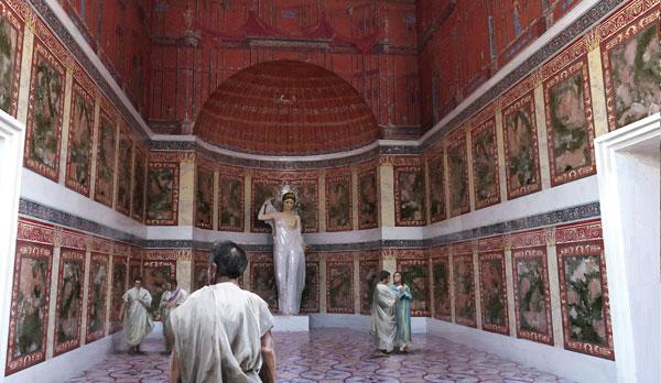 Risultati immagini per domus aurea roma