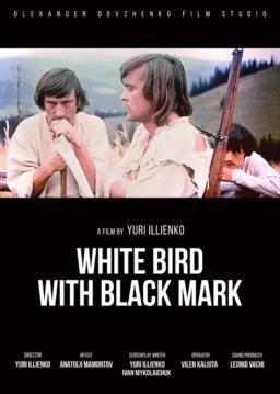 WHITE BIRD WITH BLACK MARK_poster