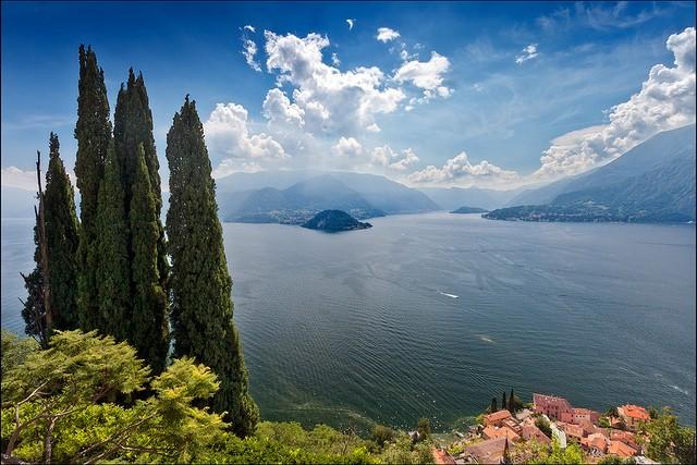 Італійське озеро Комо (італ. Lago di Como) (2)