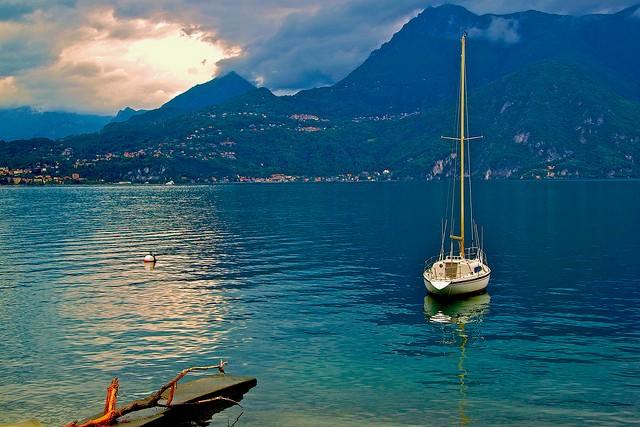 Італійське озеро Комо (італ. Lago di Como) (3)