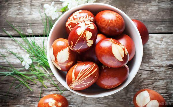 Великдень 2016: як безпечно фарбувати яйця
