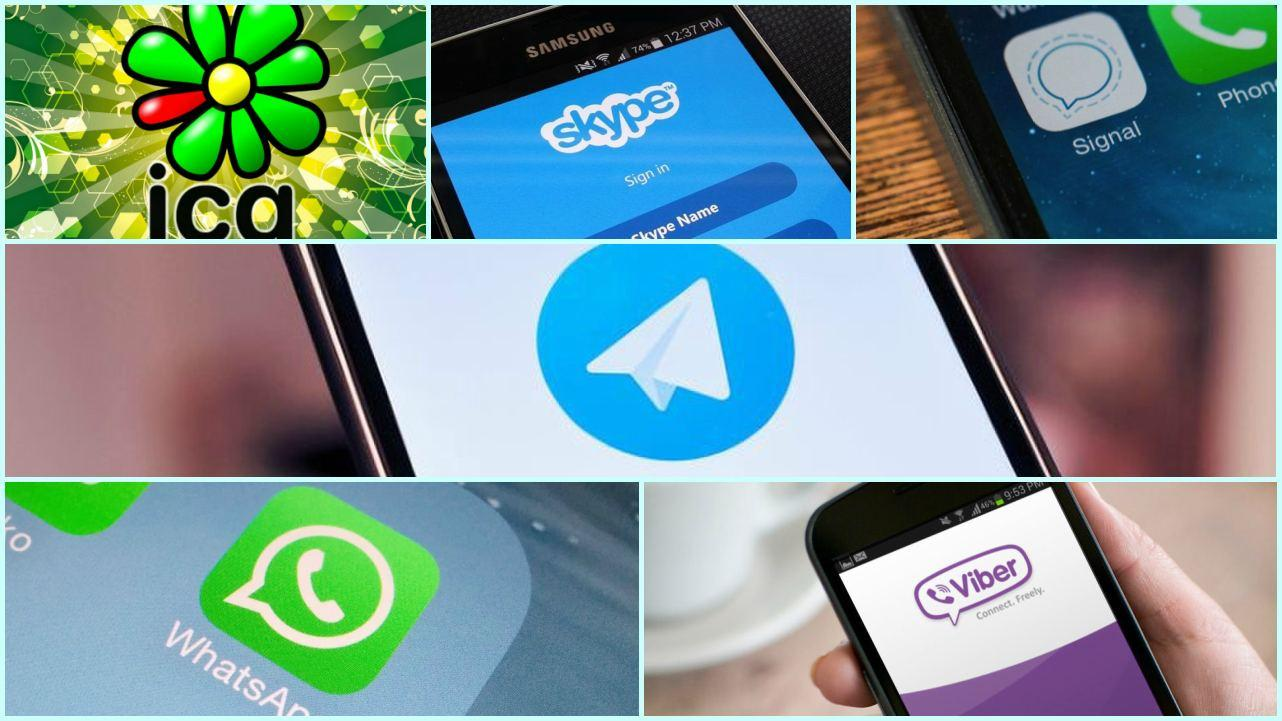 Risultati immagini per Telegram, Viber, WhatsApp, Signal