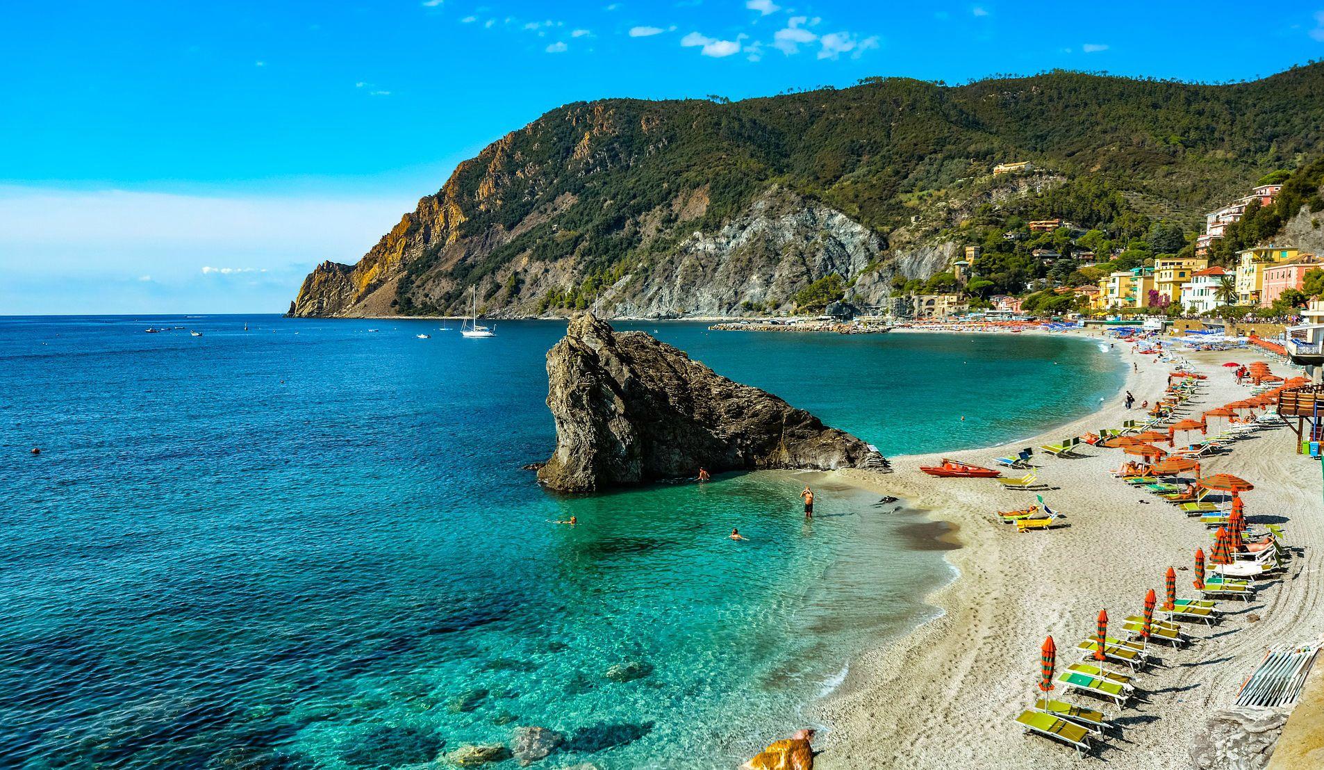 Національий парк Чинкве-Терре, Італія, Лігурійське море