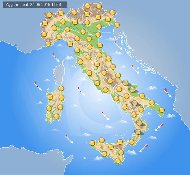 Risultati immagini per clima italiano