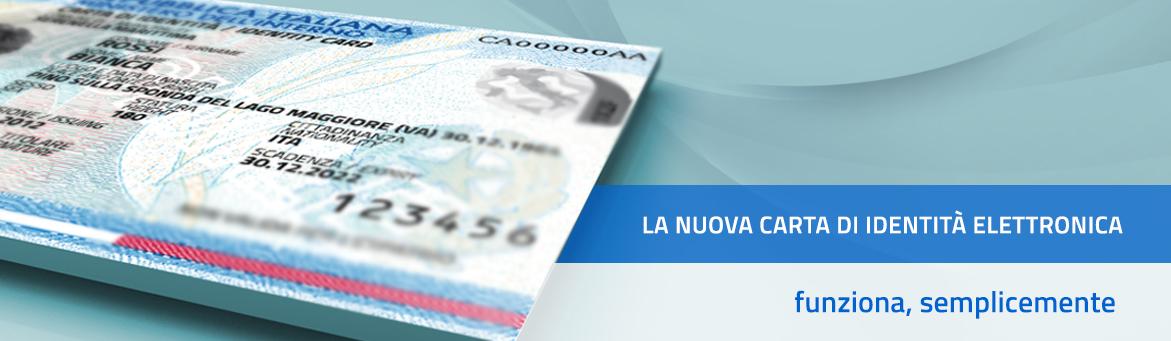 La nuova carta di identità funziona semplicemente